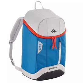 Nevera Morral conservación de temperatura para viaje 10L  Color azul. Protección contra el calor