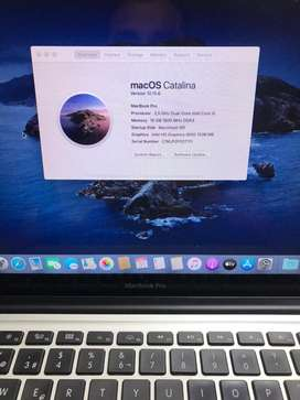 Macbook A1278 2012 usado