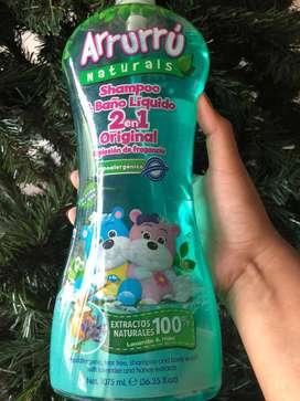 ¡GRAN PROMOCION! Shampoo y baño liquido 2 en 1 de Arrurú  A TAN SOLO $18.000