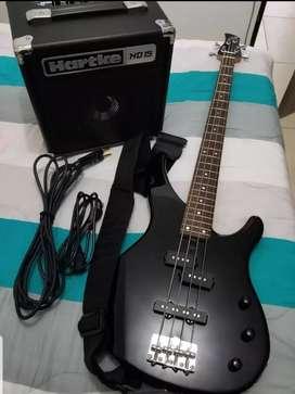 Bajo Electrico Yamaha Trbx 174  y accesorios