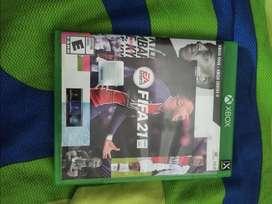 Juego FIFA 21 para xbox