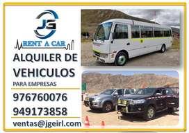 ALQUILER DE CAMIONETAS 4X4 EN HUANUCO ALQUILER DE COMBIS, VANS, CUSTER , CAMIONES EN HUANUCO