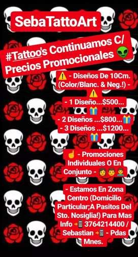 Tatuajes Precio Promocionales