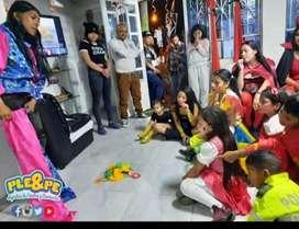 Fiestas infantiles / Recracion / Animación / Payasitos / Show De Hora Loca