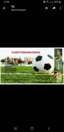 ENTRENAMIENTOS Y CLASES PERSONALIZADAS