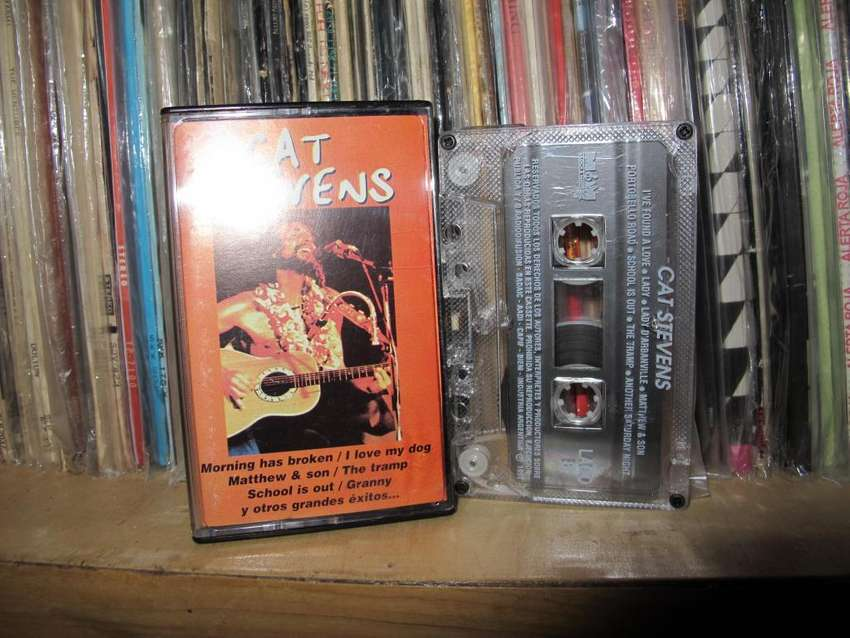 Cat Stevens - Grandes Exitos - Cassette ARG 0