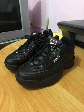 Zapatos Fila Disruptor negro