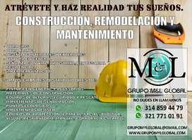 CONSTRUCCIÓN REMODELACION Y MANTENIMIENTO