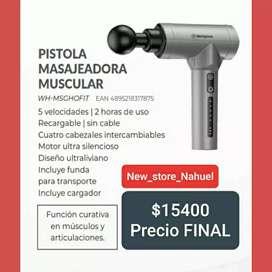 Pistola masajeadora muscular Westinghouse