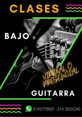 Clases de Guitarra Clasica-popular- lenguaje musical