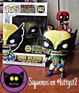Funko Pop Wolverine Zombie GITD