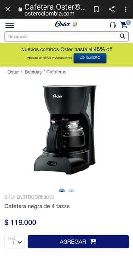 Cafetera marca Oster..super oferta
