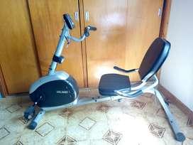 Bicicleta horizontal Olmo Magnetic con respaldo