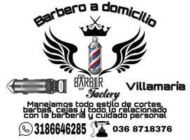 Barbero a domicilio villamaria