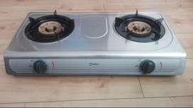 Cocina a gas de 2 hornillas marca miray modelo CMM 207 H