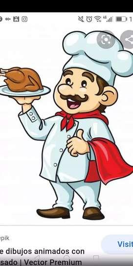 Se necesita cocinero cevicheria especialidad en todo mariscos y menú marino