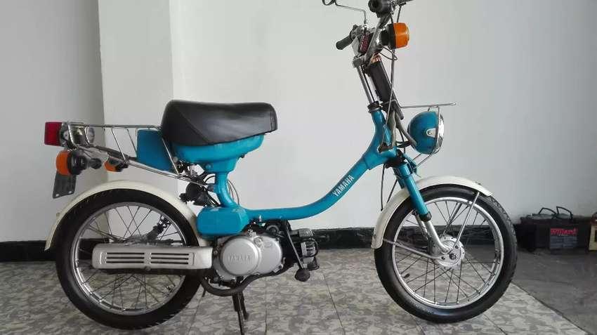 Yamaha 50 c.c. G Cardanica , no restaurada , original de fábrica , Japón 0