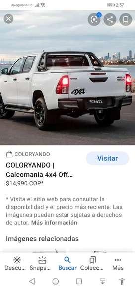 Requiero alquiler camioneta 4x4 Marcona