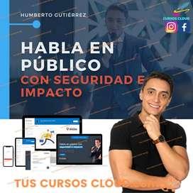 Curso Habla en público con seguridad e impacto de Humberto Gutiérrez