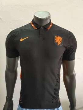 Camiseta visitante de Holanda versión jugador
