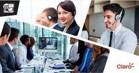 Se requiere asesores para teletrabajo en claro (no hay básico) solo comisiones pago semanal