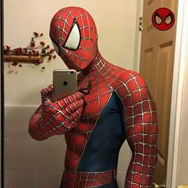 Super Cool 3D clásico disfraz de Spiderman Cosplay traje para hombres