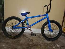 Bicicleta Bmx Profesional Y Casco Protec