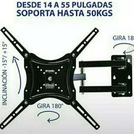 /DE TECHO Y MUROS DE,TV Y SUS BASES#instalada con su garantía de32 a90 PULGADAS