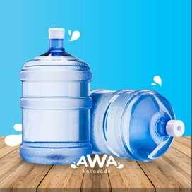 Agua de mesa envasada directo en tu casa