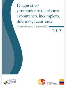 Guías de práctica clínica + Amir