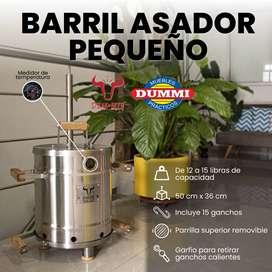 Barril Asador Pequeño – Steak and Beer
