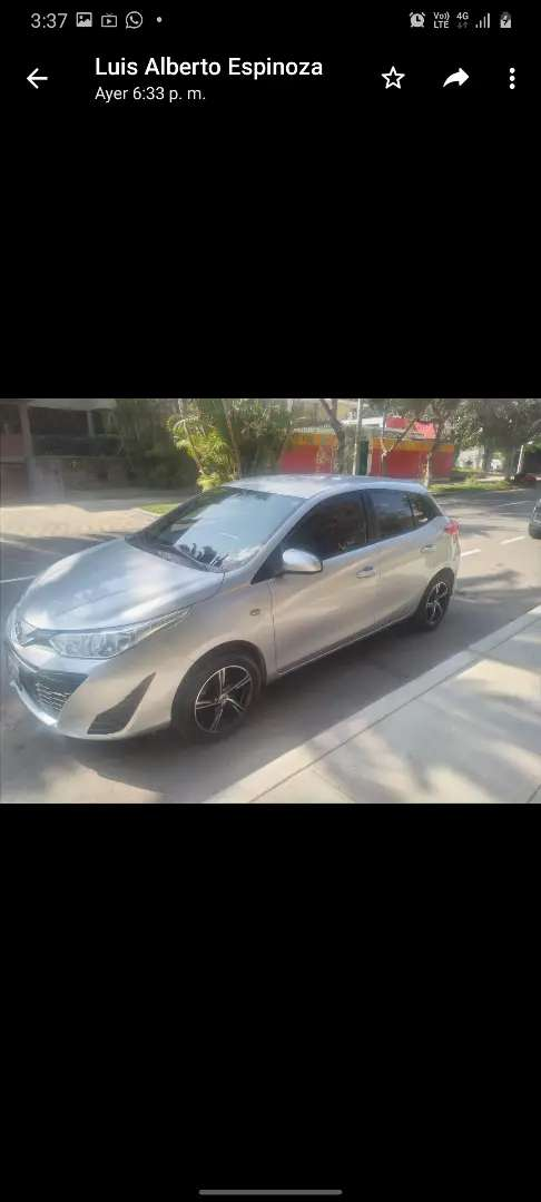 Vendo Auto Nuevo Toyota Yaris