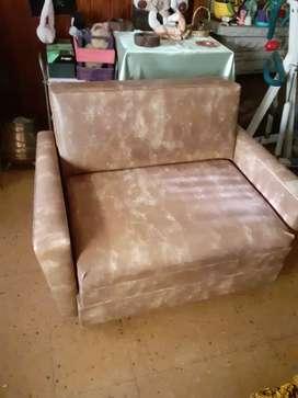 Sofá cama de 2 cuerpo con cama de 1 plaza