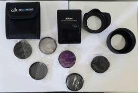 Se venden accesorios camara nikon cargador original