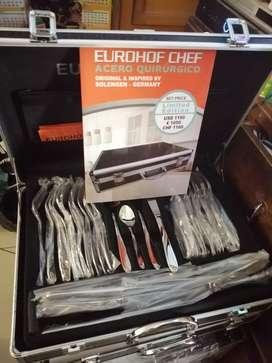Cubiertos EUROHOF Chef 84 piezas