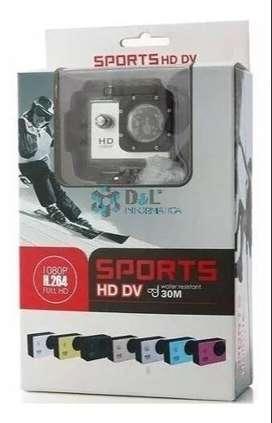 Cámara Sports Hd Dv 1080p H.264 Full Hd para MOTO