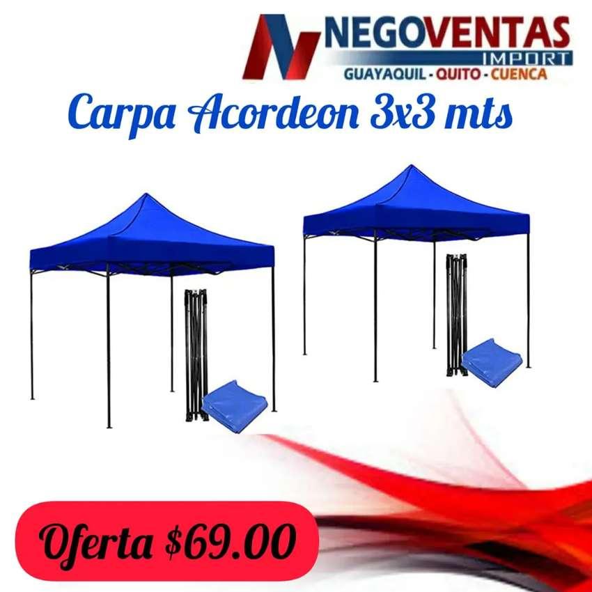 Carpa acordeon 3x3 0