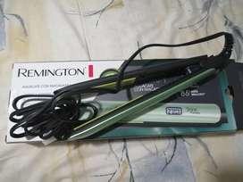 plancha Remington (aguacate con macadamia) garantía 2 años