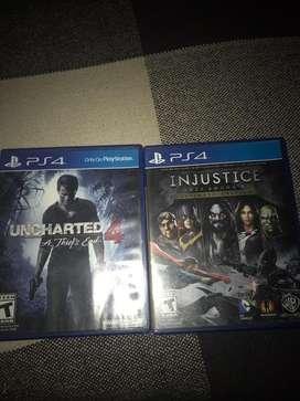 Uncharted 4 y injustice 1