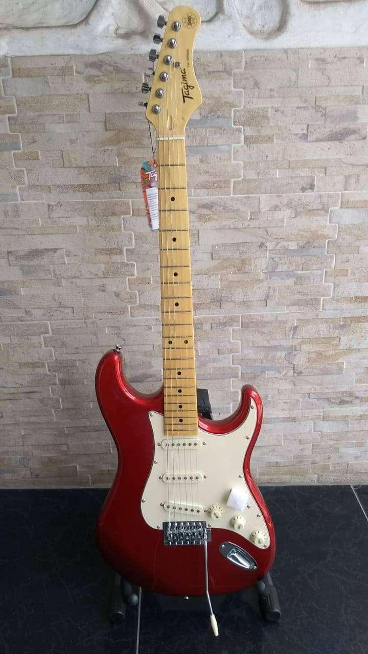 Guitarra eléctrica Tagima Strat TG530 vintage 0
