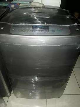 Excelente lavadora lg turbodrum de 31 lbs con garantia y mantenimiento al dia
