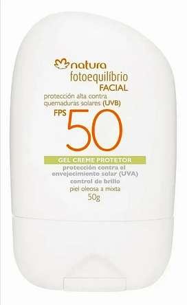 Protector solar Facial Fotoequilibrio Control brillo FPS 50 Natura