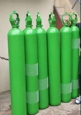 Balón de oxígeno medicinal de 10m3 cargado más kit completo