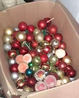 USADO, bolas de navidad surtidas