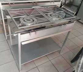 Estufas industrial acero lamina