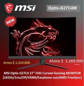 MONITOR GAMER MSI OPTIX C27