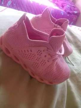 Zapatos tennis niña talla 21 22