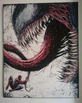 Cuadros decorativos de Venom Y Carnage
