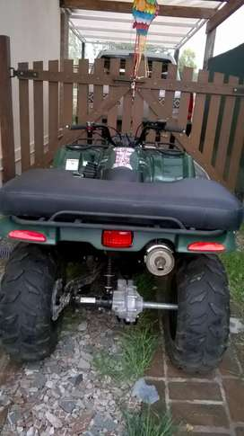 Cuatriciclo Yamaha Grizzly 350cc modelo 2010