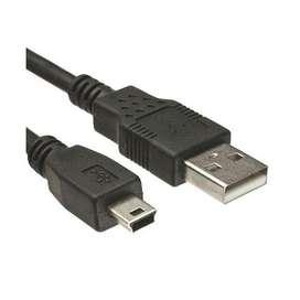 Cable Carga Joystick Ps3 Usb A Mini Usb 5 Pines La Plata